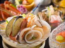 香りのよい能登独特の魚醤を使った「いしる鍋」