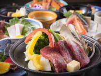 お料理ワンランクアップの「湯の香会席」(イメージ)
