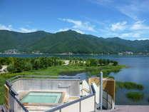 大パノラマをお楽しみ頂ける展望露天風呂「天の川」