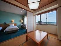 【3~4階和洋室◇客室一例】広々としたお部屋で素敵な時間をお過ごしくださいませ
