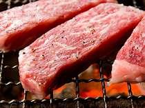 三重ブランド「松阪牛の炭火あみ焼き」&海鮮炭火焼き付き♪プレミアムプラン