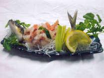 *【パリモモ(ウグイ)のお造り】パリモモとはアイヌ語でウグイのこと。新鮮なお魚をお刺身で!