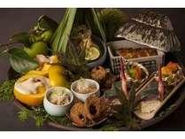 【ディナー】秋の豊穣懐石料理イメージ