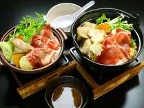 【お手頃プラン】いのぶた鍋ORいのぶた陶板焼き♪選べるプラン
