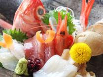 旬な鮮魚のお造り♪