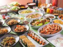 大人気の朝食バイキング 6:00~9:30