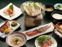 【夕食】かにしゃぶ付和食膳