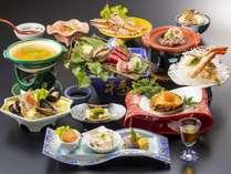 【豪華和食膳<秋冬>】豪華食材で贅沢なひとときをお楽しみくださいませ(イメージ)