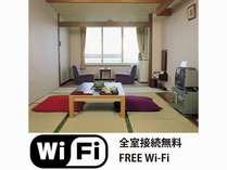 ◆1階 湖に面した和室8畳◆気軽に温泉プラン(食事無)