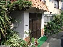 温泉民宿、相沢荘です、家庭的な雰囲気の半農業、半漁業の民宿です