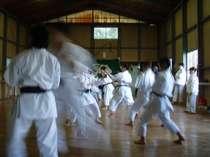 武道場がございますので、合気道、空手、剣道、その他合宿承ります!