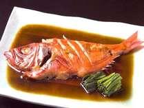 【金目鯛煮つけ付】 おなじみさま人気NO.1 甘辛い煮汁にお酒もご飯もすすみます