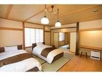和風ベッドルーム+8畳和室