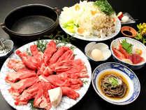 あっさりとした味わいと口の中に広がる旨味と風味は絶妙な和牛すきやき鍋♪゜.+: