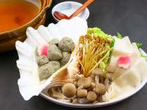 1月~2月 遇数日の夕食一例:台の物 鰯つみれ鍋