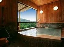 4つの中の貸切風呂で一番大きなバリアフリー対応の「恵の湯」