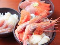 【夕食】バイキング 海鮮丼(イメージ)