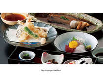 ◆最上階で…有明・佐賀味めぐり御膳◆ +朝食(2食付)