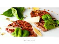 ◆佐賀県産牛フィレステーキコース◆ +朝食(2食付)