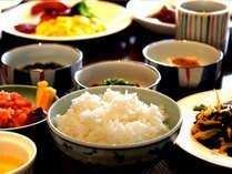 朝食バイキング ごはんは佐賀県産米