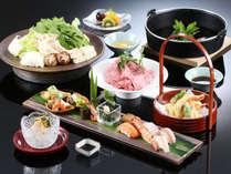 【レストラン】~厳選極味~すき焼き・天ぷら・すし「極める和」の一例
