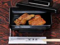 *夕食(一例)浜名湖といえば!地元名産のうなぎの蒲焼きをお楽しみください。