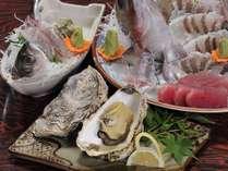 新鮮な海の幸中心のお料理をご提供しております!
