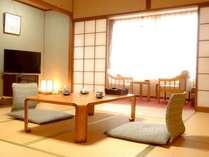 【大の字和室】全室ウォシュレット付きで7~10畳を人数に合わせてご用意致します。