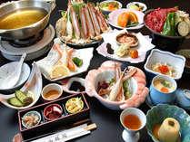 カニ鍋と肥後牛陶板焼きの饗宴♪ボリューム満点コース