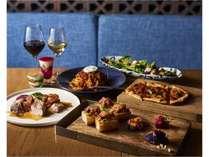 お肉にこだわりをもち、沖縄食材を楽しめるイタリアンメニューをご堪能いただけます。