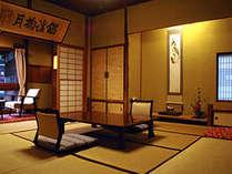 湯川向き和室8畳の一例