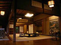 東山温泉で各皇族方御旅泊の御殿といわれた歴史を持つはなれの間