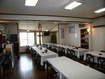 大峰山荘食堂50名収容可能