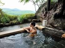 高原の癒し露天風呂
