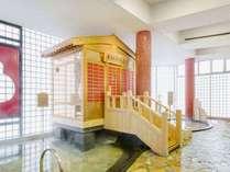 太閤黄金期がよみがえる金色に輝く蒸し風呂が大浴場に新登場!