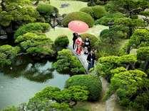 ■日本庭園■平安、鎌倉、室町時代の武家文化の一旦を偲ばせます。