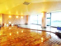 柳川市内が一望できる展望大浴場