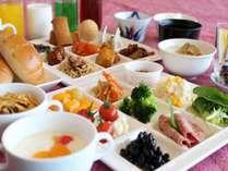 おいしい朝食で元気な一日を♪
