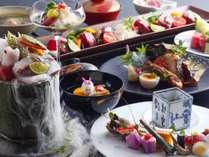 【人気No1】鳥取和牛や日本海の幸をバランスよく味わえるお勧めの会席です。