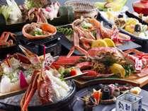 """【""""特上""""活松葉蟹】活松葉蟹を2,5杯使用した活蟹フルコース!"""