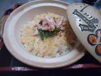 【かに料理のシメのかにご飯】〆でもペロリと食べられる逸品です。