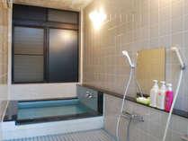 *館内の浴室(一例)こちらで入浴をご希望のお時間に合わせてお湯を張らせていただきます。