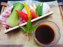 旬の夏野菜もふんだんに使用!甘味とみずみずしさをご賞味下さい。