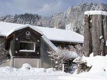 雪景色のクヴェーレ吉和