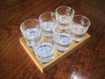 【利き酒】お気に入りの一杯を見つけよう♪地酒(球磨焼酎)6種飲み比べプラン☆