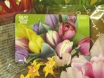 QUOカード3,000円付いてます。