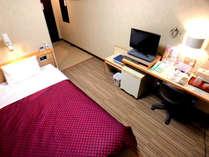 【シングルルーム】1名利用・全室インターネット(有線・無線)接続可能
