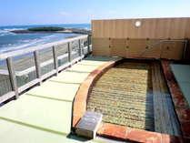 【輝潮】展望に位置する畳張りの露天風呂♪
