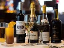 プロがセレクトしたワインもご用意。お食事に合わせてどうぞ♪