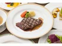 豊後牛のステーキ